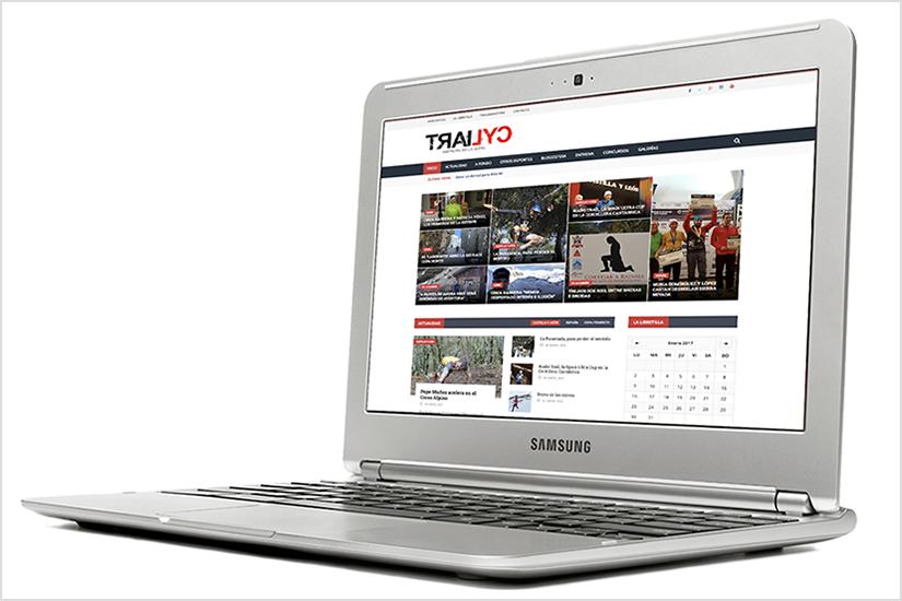 Desarrollo Sport Web - Trailcyl.com