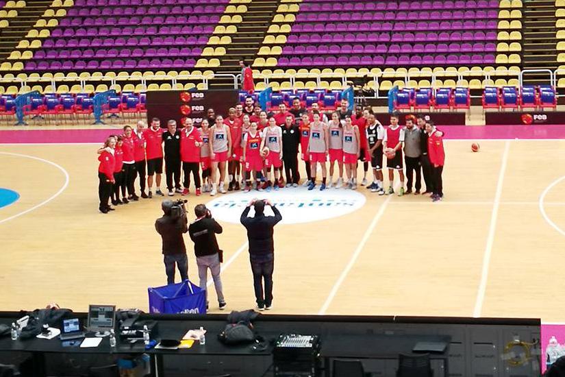 Selección Española Femenina de Baloncesto - España/Holanda