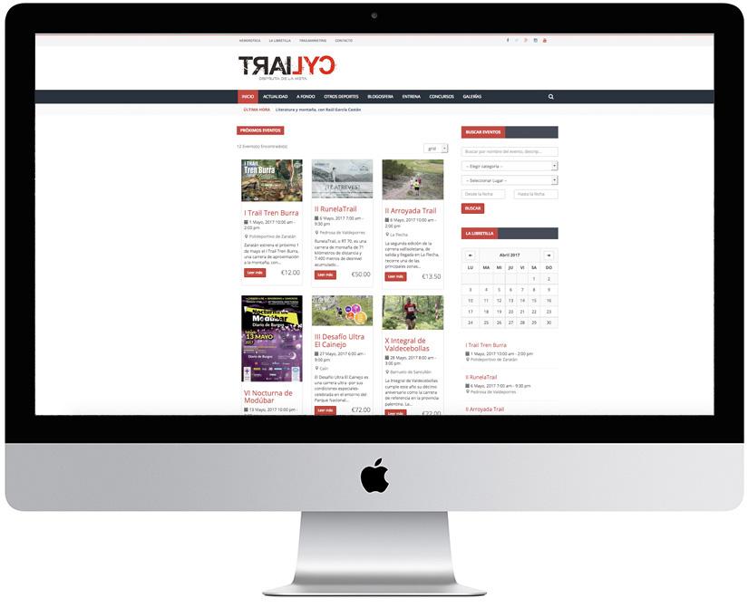 Trailcyl - Sportive Web