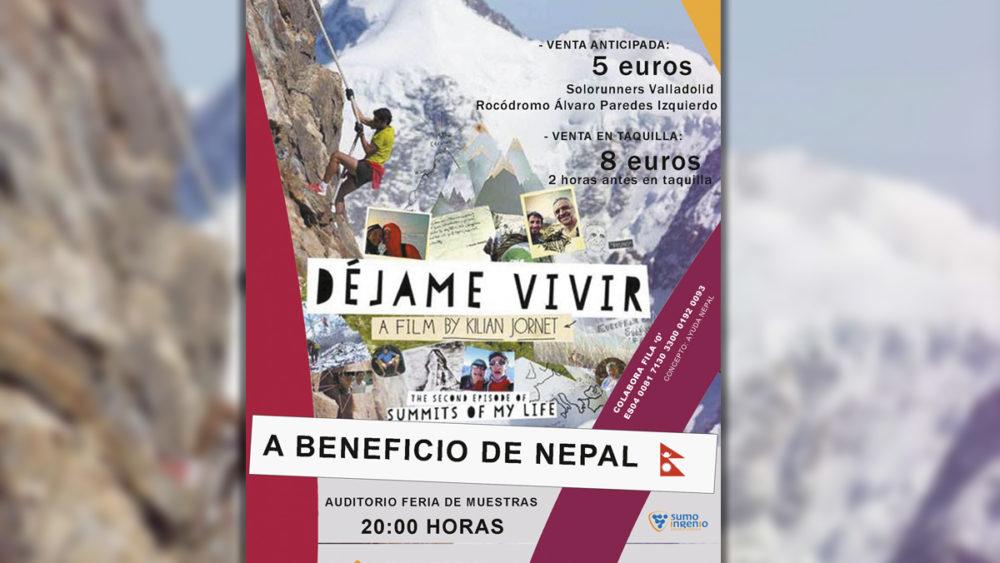 Cartel Ayuda Nepal