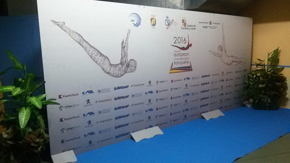 Campeonato de Europa de Gimnasia en Trampolín 2016