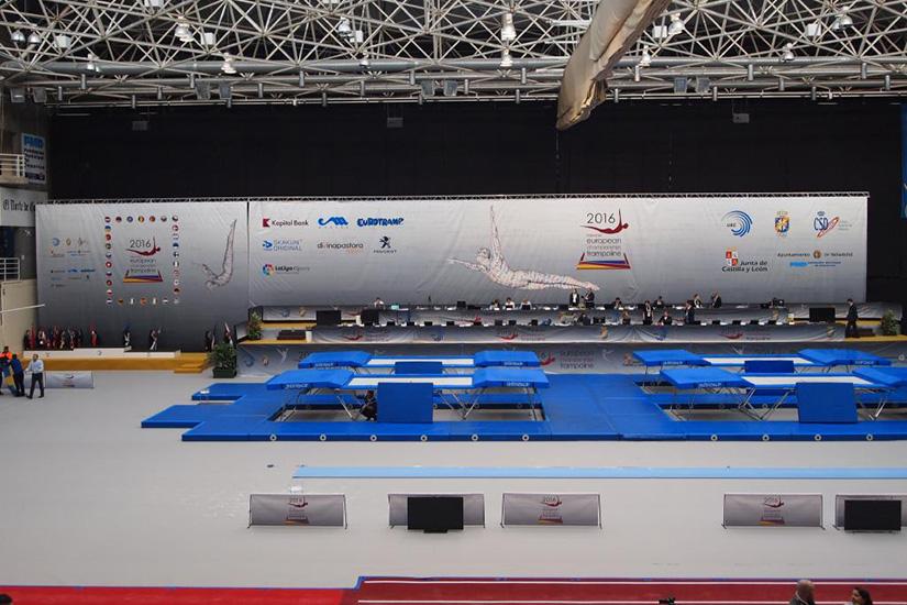 Campeonato de Europa de Gimnasia de Trampolín - SumoIngenio Sport&Events