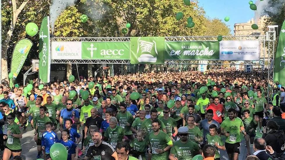 Marcha AECC 2017 y 2018