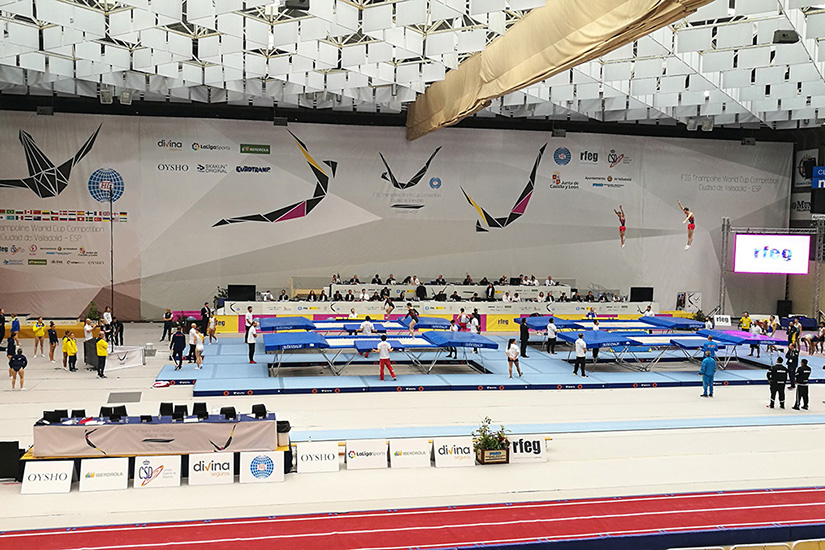 World Cup 2019 Trampoline - preview